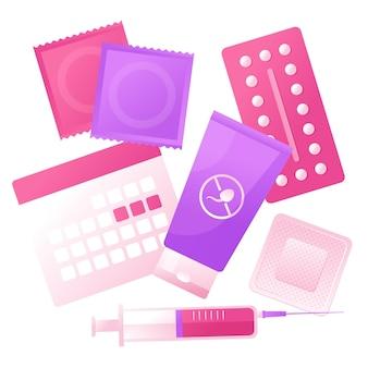 Concept de méthodes de contraception