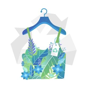 Concept de mode durable dessiné à la main