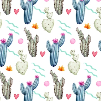 Concept de modèle de cactus