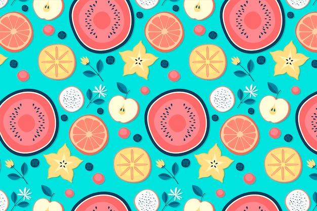 Concept de modèle de fruits