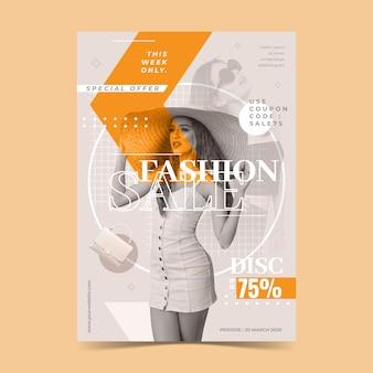 Concept de modèle de vente de mode