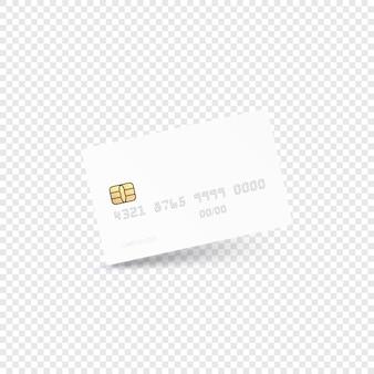 Concept moderne de carte de crédit