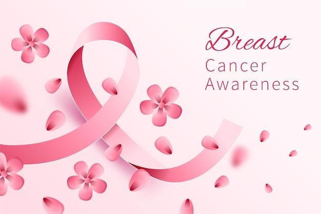 Concept de mois de sensibilisation au cancer du sein