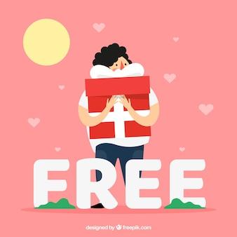 Concept de mot gratuit