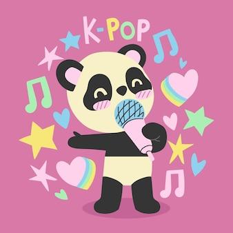 Concept de musique k-pop