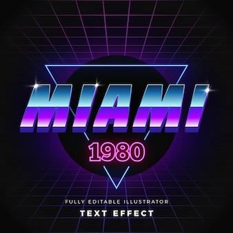 Concept de néon effet texte