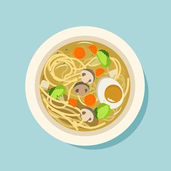 Concept de nourriture réconfortante