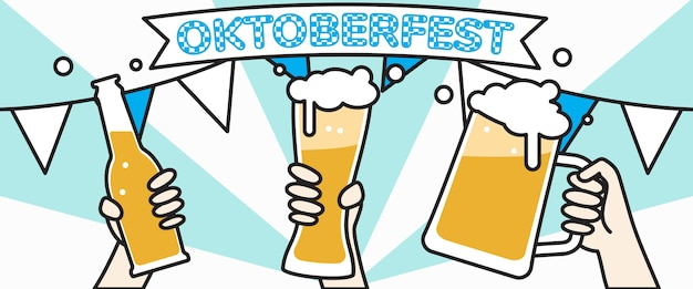 Concept oktoberfest