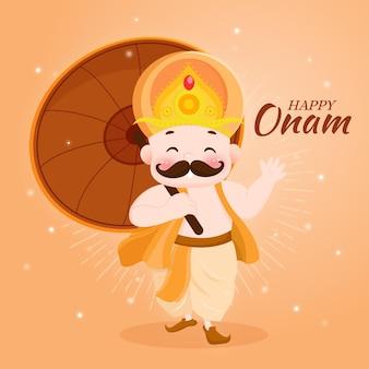 Concept onam dessiné à la main
