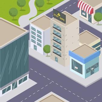 Concept de pandémie de ville vide