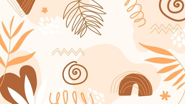 Concept de papier peint abstrait
