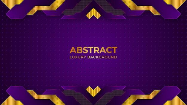 Concept de papier peint moderne abstrait luxe fond violet