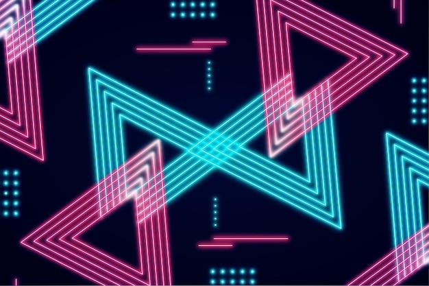 Concept de papier peint néons