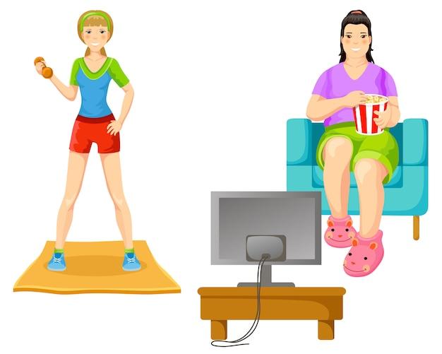 Concept de perte de poids
