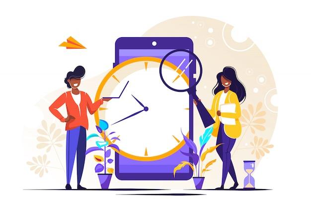 Concept de planificateur ou de calendrier