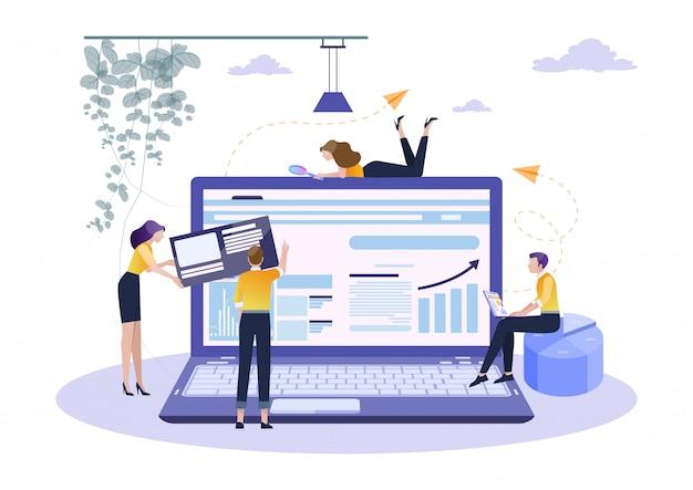 Concept de planification du travail en équipe