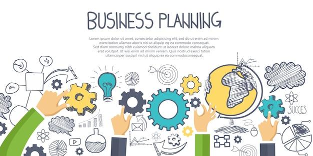 Concept de planification d'entreprise