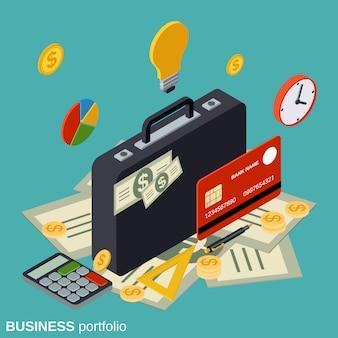 Concept de portefeuille d'entreprise