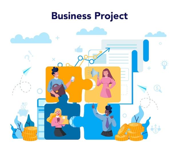 Concept de projet d'entreprise