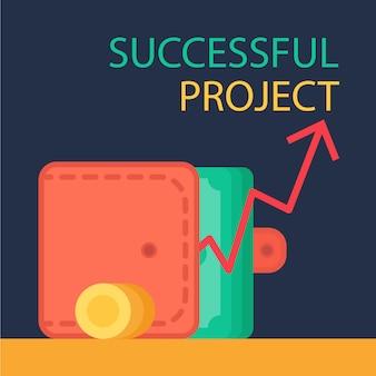 Concept de projet réussi