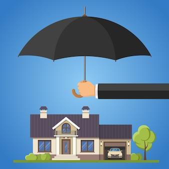 Concept de protection de la propriété