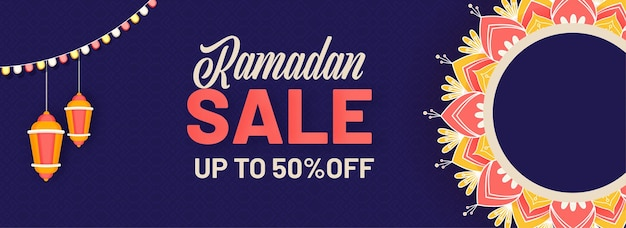 Concept de ramadan kareem ou ramazan kareem