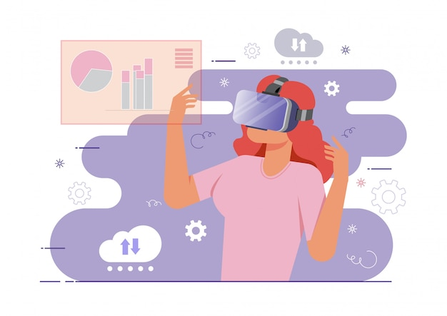 Concept de réalité virtuelle
