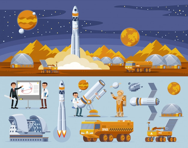 Concept de recherche spatiale