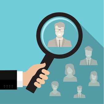 Concept de recrutement ou de sélection