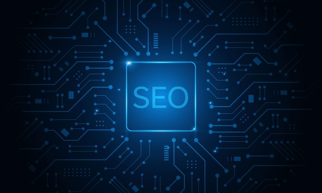 Concept de référencement, optimisation des moteurs de recherche, site web de classement marketing, concept de navigation