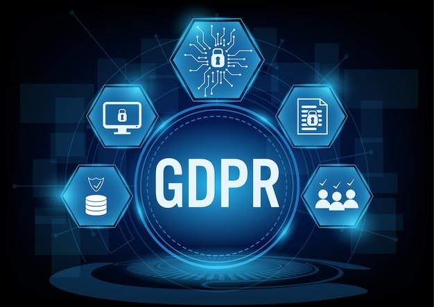 Concept de règlement général sur la protection des données