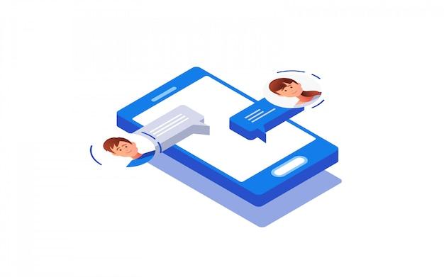 Concept de réseautage social