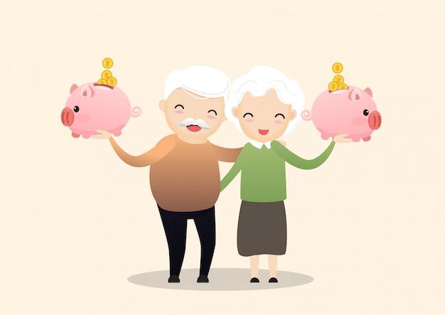 Concept de retraite.