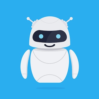 Concept de robot chatbot.