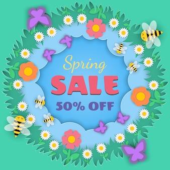 Concept saison printemps
