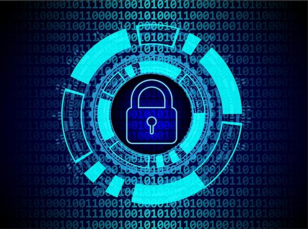 Concept de sécurité numérique.