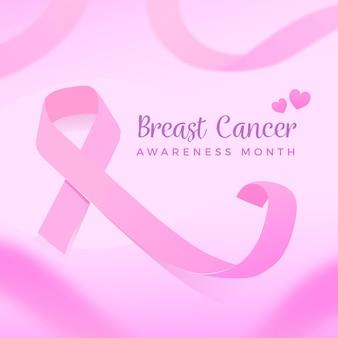 Concept de sensibilisation au cancer du sein