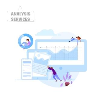 Concept de serveur d'analyse.