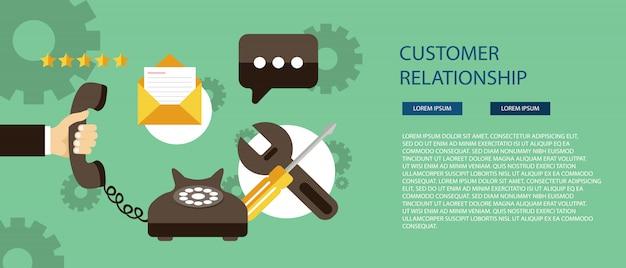 Concept de service client business care