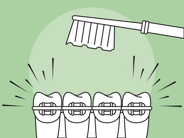 Concept de soins dentaires