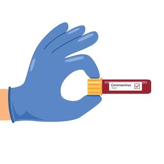 Concept de soins de santé et d'infection