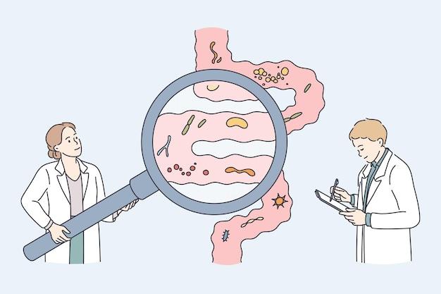 Concept de soins de santé et de nutrition saine