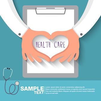 Concept de soins de santé: