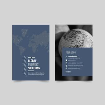 Concept de solution commerciale globale