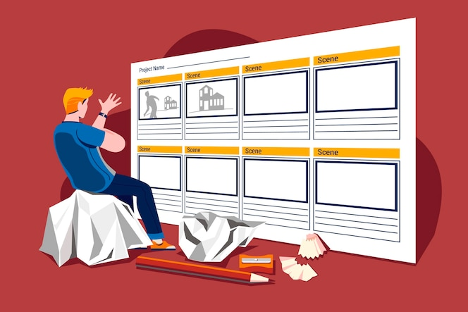 Concept de storyboard