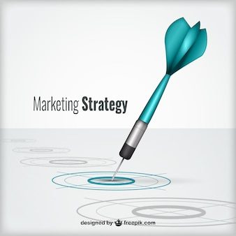 Concept de stratégie de marketing