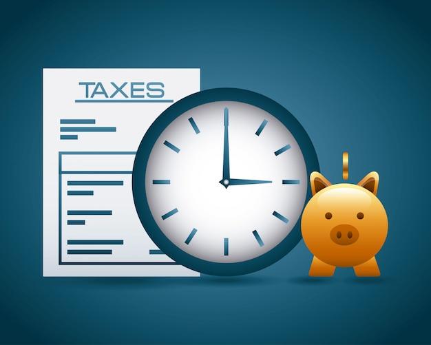 Concept de taxes