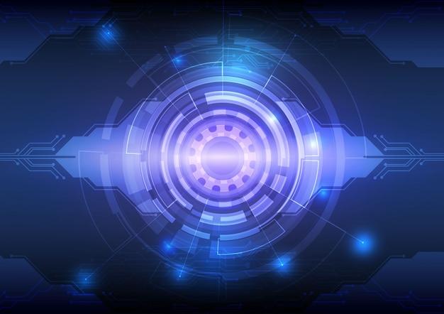 Concept de technologie numérique abstrait