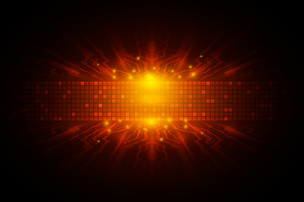 Concept de technologie de vitesse numérique vectorielle