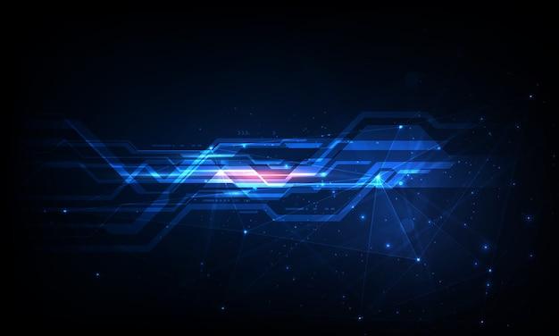 Concept technologique mondial numérique, fond abstrait